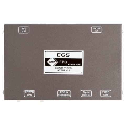 Видеоинтерфейс для BMW E65, E66 2002-2008 г.в. Прев'ю 1
