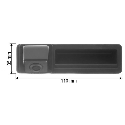 Tailgate Rear View Camera for Audi A3, A4L, A5, A6L, Q7, S5 Preview 1
