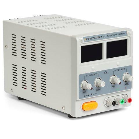 Лабораторний блок живлення Masteram MR3002 Прев'ю 1
