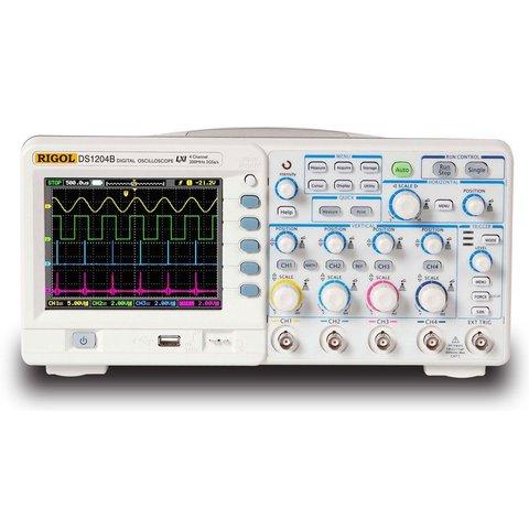 Digital 4-channel Oscilloscope Rigol DS1104B Preview 3