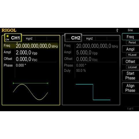 Arbitrary Waveform / Function Generator RIGOL DG4062 Preview 3